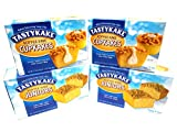 Tastykake Coffee Cake Breakfast Cake Variety Pack | 4 Family Size Boxes | Koffee Kake Juniors &...