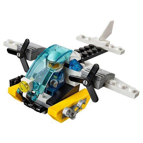 LEGO City Polizei Gefängnisinsel Hubschrauber 30346 NEU Promotional Set Polybag Beutel