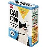 Nostalgic-Art 30320 - Boîte de Conservation XL, avec Inscription « Cat Food – Vegetables, Chicken, Salmon Mix »