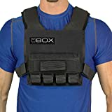 Box 20 Lb Super Short Weight Vest - Made in USA - Built for Gym Weight Loss...