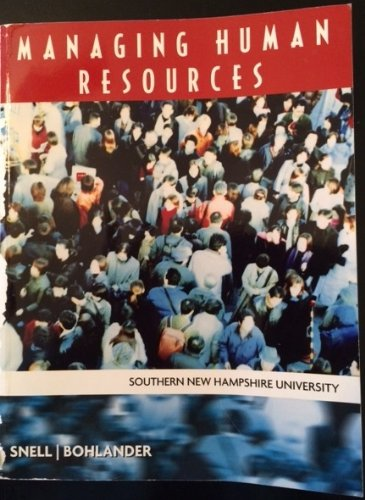 Managing Human Resources (Southern New Hampshire University)