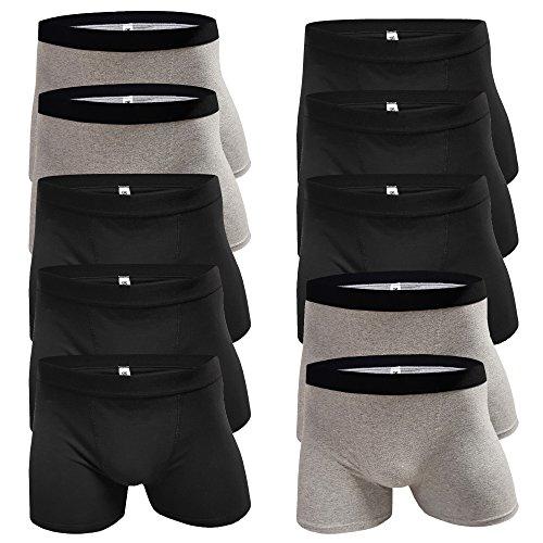 5-10 Unterhosen Jungen Boxershorts Jungs Boxershort Kinder Schlüpfer Unterwaesche Boxers (Farbmix - 10 Stück, Gr. 170/176)