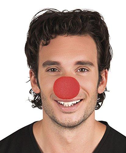 Boland Set 12 Nasi clown foam rosso