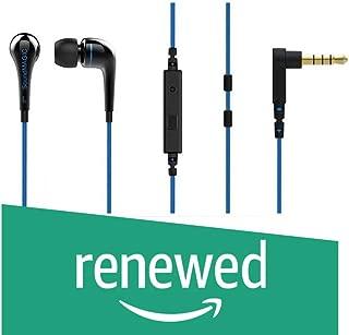 (Renewed) SoundMagic Active ES11S in-Ear Headphones with Mic (Blue/Black)