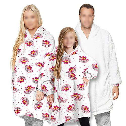 HGYJ Batamanta,Pijamas de Manta para Padres e Hijos para Adultos y Niños,...