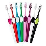 TePe Supreme Spazzolino da denti (Confezione da 12 pezzi) diversi colori