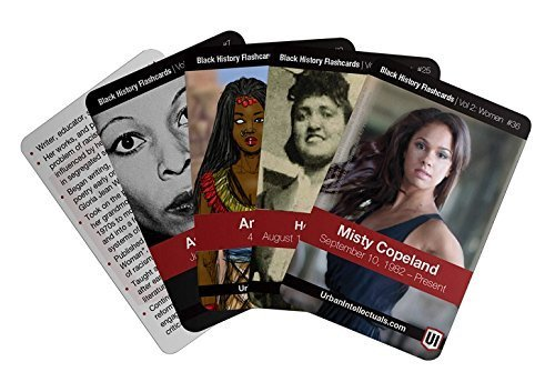 Urban Intellectuals Black History Flashcards: Women (52 educational card deck) (Volume 2)