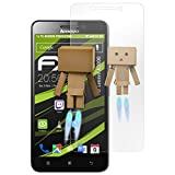 atFolix Bildschirmfolie kompatibel mit Lenovo A5000 Spiegelfolie, Spiegeleffekt FX Schutzfolie
