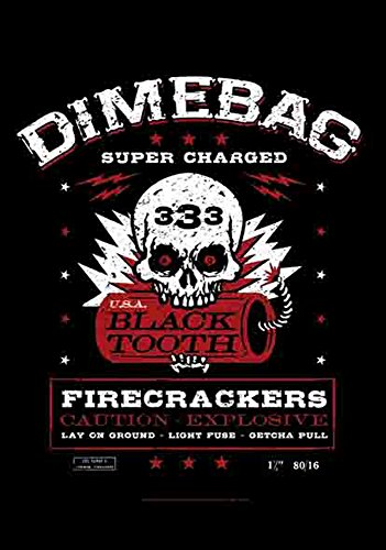 DIMEBAG DARREL – Fire Crackers – poster drapeau 100% polyester – Taille 75 x 110 cm