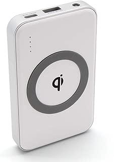 ワイヤレス モバイルバッテリー cheero Energy Plus mini 4400mAh Wireless 薄型 軽量 iPhone&Android対応 Auto-IC機能搭載 PSEマーク付 3台同時充電可能 (ホワイト) CHE-105