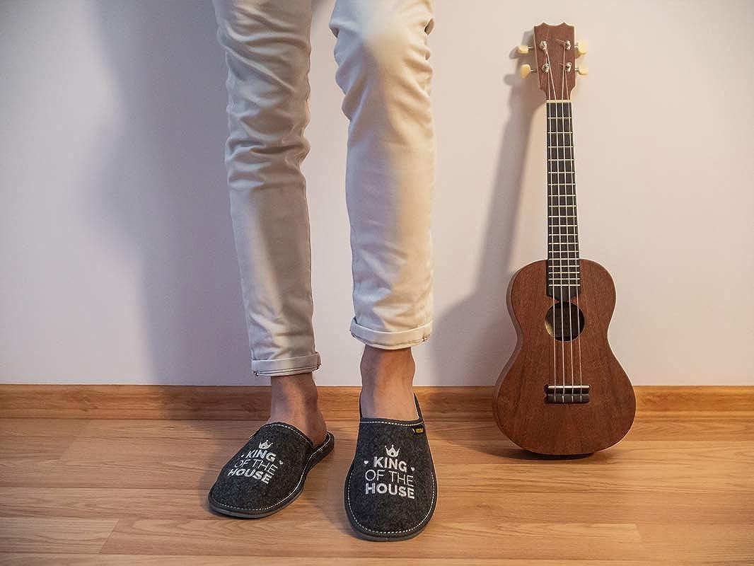 Zapatillas de Hombre Apreggio Light Natural 100/% Piel Natural Producto Hecho a Mano Suela Blanda Flexible y Confortable