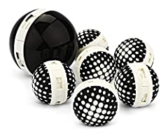 Shoe deodorizer balls for removing foot odors and other odor-causing bacteria from shoes, gym bags, and lockers Small, round design to reach and absorb odors in tight, dark places where other fresheners won't fit Quick-twist action to open and releas...