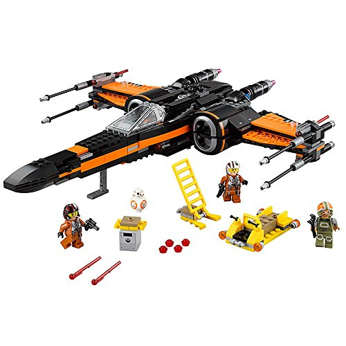 Chasseur LEGO Star Wars Poe X-Wing Fighter 75102 - 717 Pièces - 5