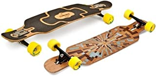 Loaded Longboard Cruiser Complete Skateboard Tan Tien Drop Through - 38.9 x 8.7 Inches Drop Thru Complete