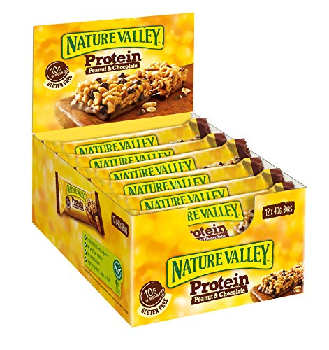 Nature Valley Protein Peanut & Chocolate, 12er Pack Proteinriegel (12 x 40 g)