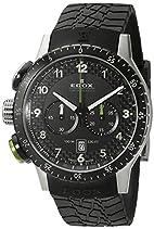 EDOX Unisex-Armbanduhr EDOX RALLY INSTRUMENTS CHRONORALLY 1 Chronograph Quarz Kautschuk 10305 3NV NV