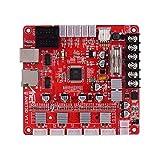 Funien Mother Board, A1284-Base V1.7 Base Control Board Mother Board Mainboard for Anet A8 Plus DIY Self Assembly 3D Desktop Printer RepRap i3 Kit Upgrade Supplies 24V