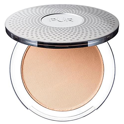 Pur Minerales Maquillaje Mineral Prensada 4-en-1, mediano Blush doce y...