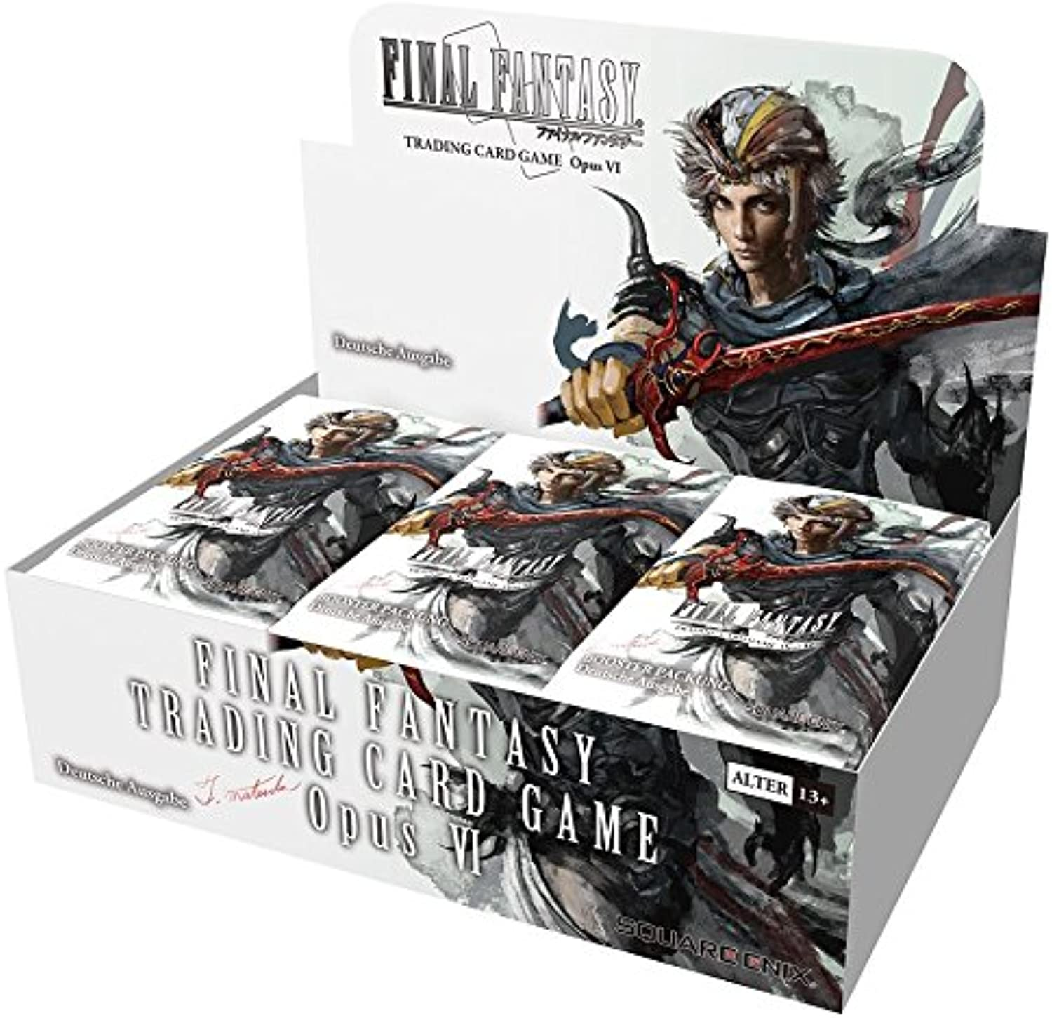 Square Enix Products Final Fantasy TCG - Opus 6 - Booster Display (DE)