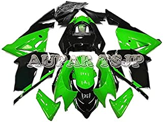 Complete Motorcycle Fairings for ZX10R 2004 2005 Year Injection ABS Plastic 04 05 Motorbike Covers Body Work Panels Kits Green Black