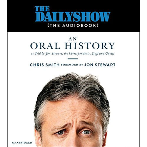 The Daily Show (the AudioBook) audiobook cover art