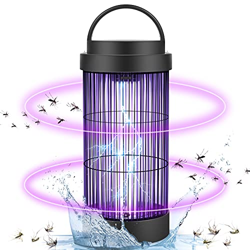 Bug Zapper, Electric Mosquito Trap for Outdoor and Indoor, 30W 4000V Waterproof Fly Pest Killer up to 1500 Sq Ft for Home, Garden, Backyard, Patio