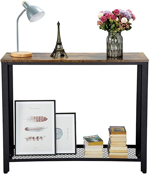 Yaheetech Console Side Table With Storage Shelf For Hallway