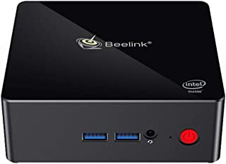 Beelink Gemini X45 Win 10 Mini PC Computer 8GB RAM 256GB SSD Intel Gemini Lake Celeron J4105 2.4G/5G WiFi 1000Mbps Bluetoo...