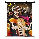 Weretlyop Angels of Death (Satsuriku no Tenshi) Anime Fabric Wall Scroll Poster (16x22) Inches [A]...