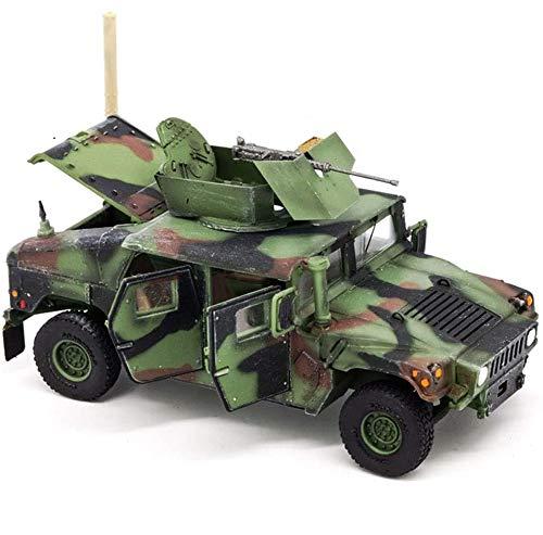 CMO Maqueta Tanque de Guerra, Hummer M1114 el Plastico Militares Escala 1:72, Juguetes y Regalos para Niños, 2.8 X1.2 Pulgadas