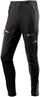 QZ Cycling Casual Long Pants Loose Leisure Sport Reflective Trousers (Color : L)