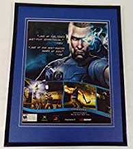 PSI-Ops 2004 Xbox PS2 11x14 Framed ORIGINAL Vintage Advertisement