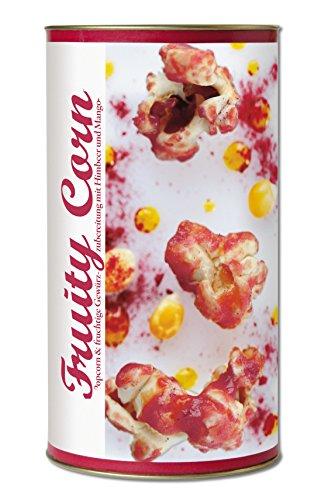 Gourmet Popcorn zum Selber-Backen, fruchtig süßes Popcorn, mit Mango und Himbeeren, Raffinierte Geschenk-Idee, frisch-duftend, auch als Party-Snack Fruity Corn von Feuer & Glas 271g