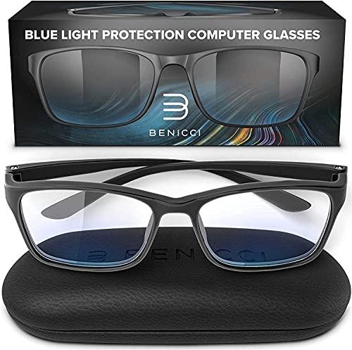 Stylish Blue Light Blocking Glasses for Women or Men - Ease Computer...