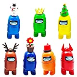BESTZY Among Us Figuras en Miniatura 7PCS Among Us Figure Toy...