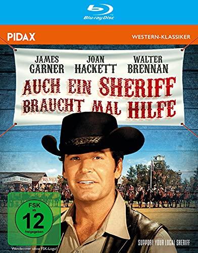 Auch ein Sheriff braucht mal Hilfe (Support Your Local Sheriff) / Brillante Westernkomödie mit James Garner (MAVERICK) (Pidax Western-Klassiker) [Blu-ray]