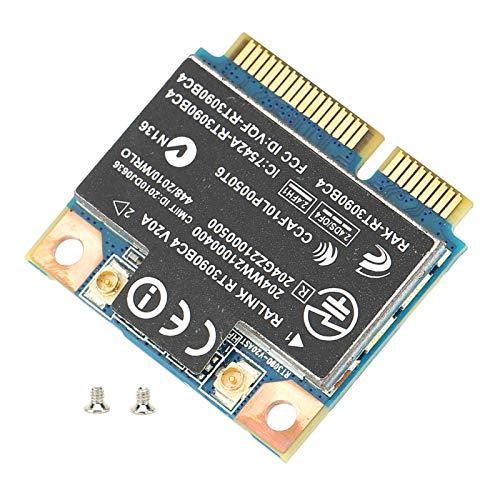 Tomanbery Tarjeta de Red Amplia compatibilidad Tarjeta PCI-e WiFi Resistente a la corrosión Señal Estable Vida útil Prolongada Buen Rendimiento Inalámbrico para computadora