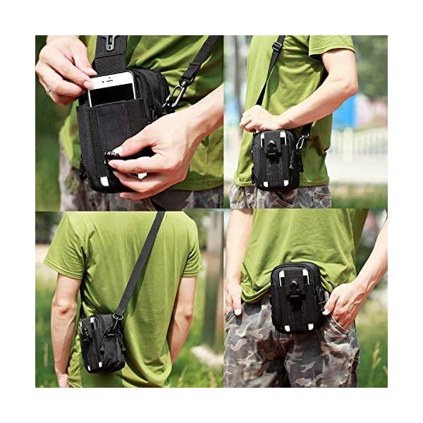 Mardingtop 25/40L Mochila Táctica Militar Mochila de Asalto Molle Bolsa de Emergencia Mochilas Asalto Unisex para… 1
