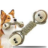 AnNido Giochi da Masticare Resistenti per Cani, Giocattoli per Cani Cotone Naturale per Cani Cuccioli di Piccola e Media Taglia, Cane Interattivo Giocattoli Non tossici per la Pulizia dei Denti