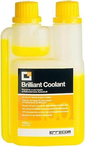 BRILLIANT COOLANT, Traceur UV pour Liquide de Refroidissement Véhicules (100 mL)