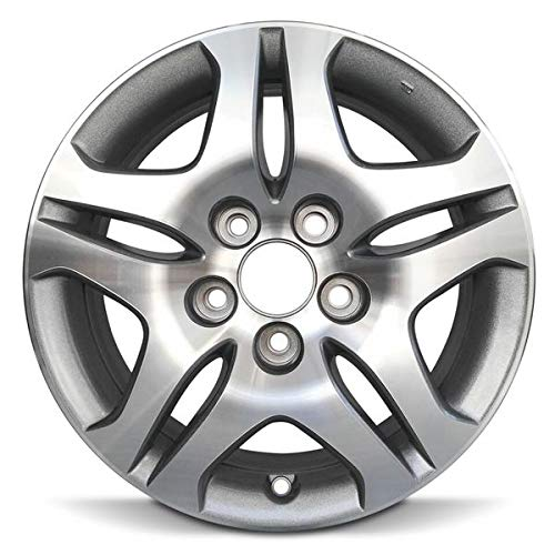 Road Ready Car Wheel For 2005-2010 Honda Odyssey 16 Inch 5 Lug Silver Aluminum Rim Fits R16 Tire - Exact OEM Replacement - Full-Size Spare