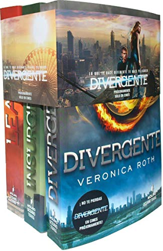 Pack trilogia Divergente (Divergente / Insurgente / Leal