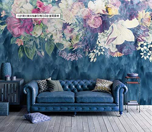 Fotobehang, bloemen, muur, woonkamer, slaapkamer, kantoor, hal, decoratie, wanddecoratie, moderne wanddecoratie 200cm x 150cm