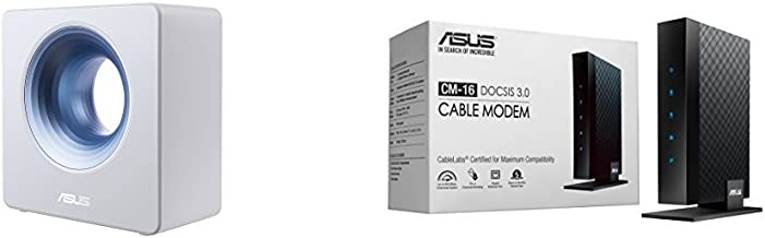 Asus AC2600 Dual band Wireless router ( Blue Cave ) with DOCSIS 3.0 16X4 Cable modem ( CM-16) Kit