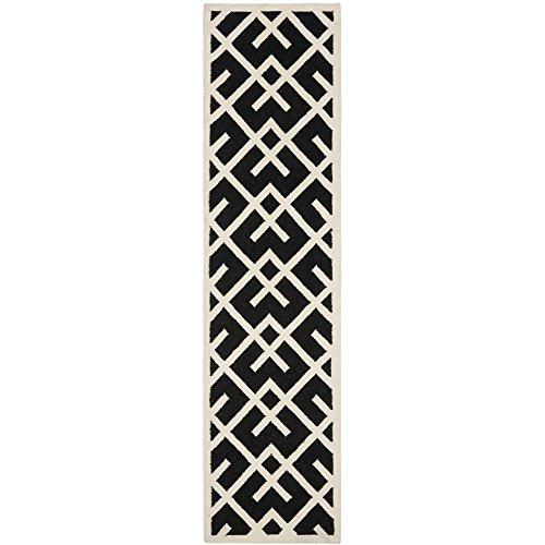 Safavieh Dhurries Collection DHU552L Handmade Flatweave Premium Wool Runner, 2
