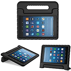 Designed for All-New Fire HD 8 (7th and 8th Generation, 2017 and 2018 Release) / Fire HD 8 (6th Generation, 2016 Release). Easy access to all features and controls. Constructed from impact-resistant EVA material, drop protection and impact-resistance...