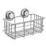 ARCCI Ventosa de vacío Ventosa de Ducha Cesta Shampoo Conditioner Holder Shelf para baño y Cocina