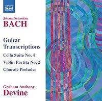 Guitar Transcriptions-Cello Suite No. 4 Violin Par