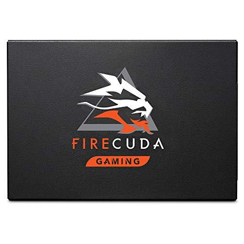 Seagate FireCuda ZA2000GM10001 120 SATA SSD, 2 TB, SSD Interno per Gaming, 6.35 cm/2.5 pollici, SATA 6 GB/s, 3D-TLC, Nero, 3 Anni di Servizi Rescue