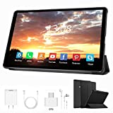 Tablet 10 Pulgadas Baratas y Buenas 4 GB RAM+64GB ROM /128GB Android 9.0 Ultrar-Rápido Tablets 4G Dual SIM / WiFi 8000mAh Batería Quad Core (GPS, Bluetooth, OTG, Netfilix,Type-C)